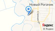 Новорогачинская средняя общеобразовательная школа на карте