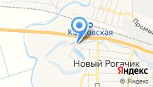 Новорогачинский ветеринарный пункт на карте