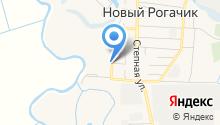 Продуктовый магазин на Озёрной на карте