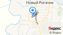 Новорогачинская участковая больница на карте