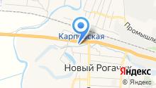 Администрация Новорогачинского городского поселения на карте