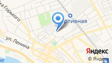 Магазин продуктов на ул. Фрунзе на карте