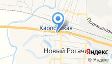 Ритуальное агентство на карте