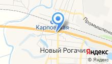 Магазин фастфудных изделий на карте