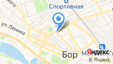 Адвокатская контора Борского района на карте