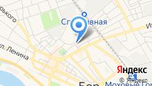 Борская детская поликлиника №1 на карте