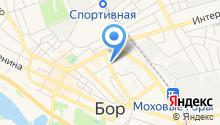 Борское районное потребительское общество на карте