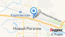 Городищенский комбинат хлебопродуктов на карте