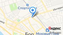 Магазин одежды на ул. Крупской на карте