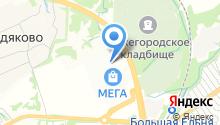 TRUVOR на карте