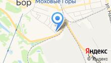 Парикмахерская на ул. Луначарского на карте