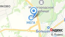 СЕНАТ на карте