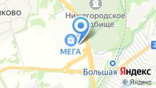 IKEA на карте