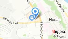 Accent на карте