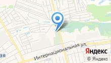 Городское кладбище на карте