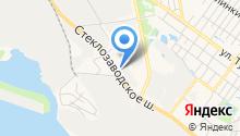 Автосервис на Стеклозаводском шоссе на карте