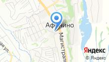Афонино на карте