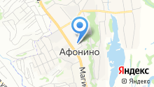 Афонинская врачебная амбулатория на карте