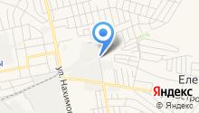 Борский лесхоз, ГБУ на карте