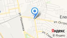 Парикмахерская на ул. Островского на карте