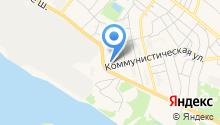 Парикмахерская на Коммунистической на карте