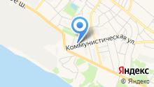 Стеклозаводская городская библиотека на карте