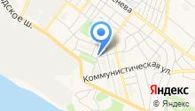 Ателье на ул. Баринова на карте