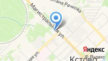 Автостанция г. Кстово на карте