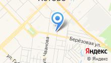 Продуктовый магазин на ул. Чванова на карте