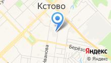 Управление по делам ГО и ЧС Кстовского муниципального района на карте