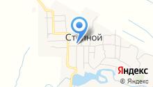 Россошинская средняя общеобразовательная школа на карте