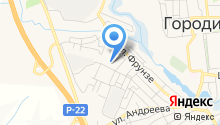Городищенская районная ДЮСШ на карте