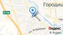 Городищенская средняя общеобразовательная школа №2 на карте