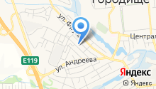 Отдел ГИБДД Отдела МВД России по Городищенскому району на карте