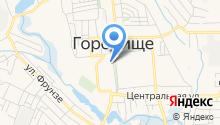 Территориальный фонд обязательного медицинского страхования Волгоградской области на карте