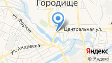 КБ Русюгбанк, ПАО на карте