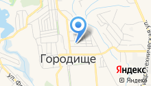 Прокуратура Городищенского района на карте