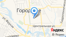 Городищенская средняя общеобразовательная школа №1 на карте