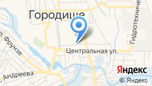 Комбинат благоустройства Городищенского городского поселения на карте