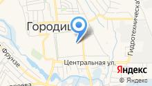 Отдел военного комиссариата Волгоградской области по Городищенскому на карте