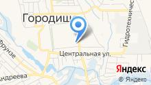 Городищенский центр социального обслуживания населения на карте