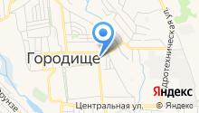 Пожарная часть №65 Городищенского района на карте