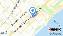 EVG на карте