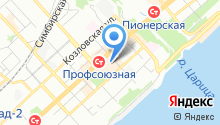 Evona на карте