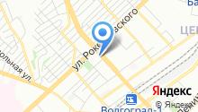 Волгоградская областная сельхозтехника, ЗАО на карте