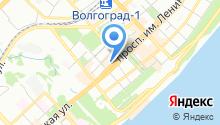 Объединенный визовый центр на карте