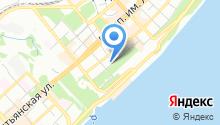 Территориальный орган Федеральной службы государственной статистики по Волгоградской области на карте