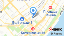 Шары-Волгоград на карте