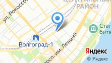 Управление Федерального Казначейства по Волгоградской области на карте