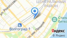 Инспекция государственного надзора за техническим состоянием самоходных машин и других видов техники Волгоградской области на карте